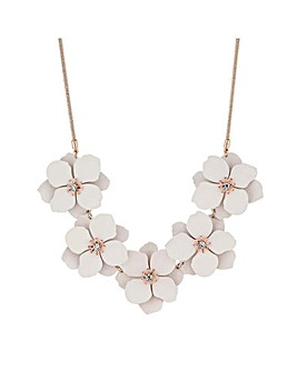 Mood Rose Gold Plated Flower Necklace