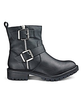 Dela Biker Boot Wide Fit
