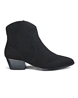 Elijah Western Boots Wide Fit