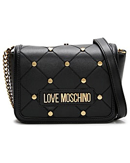 Love Moschino Mini Studded Cross-Body