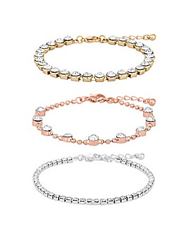 Mood Mixed Plate Multipack Bracelets