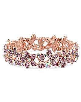 Mood Rose Gold Plate Pink Bracelet