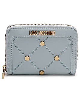 Love Moschino Studded Coin Purse