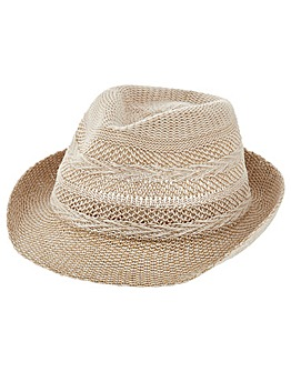 Accessorize Chevron Packable Trilby