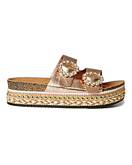 Joe Browns Embellished Platform D Fit