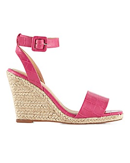 Head Over Heels Kairi Ankle Strap Wedge Sandals Standard D Fit
