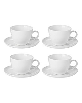 Fine China Set of 4 Cup and Saucers