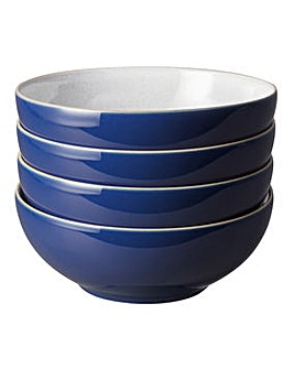 Denby Elements set of 4 Cereal Bowls