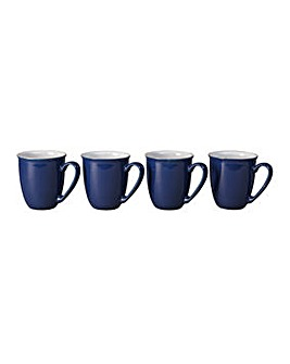 Denby Elements set of 4 Mugs