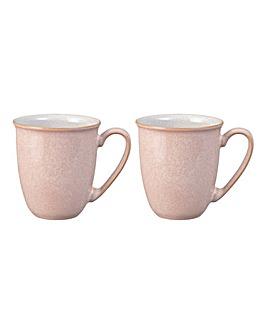 Denby Elements set of 4 Mugs