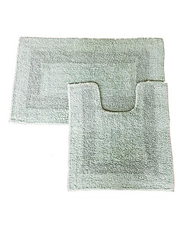 Emporia Reversable Ped and Bathmat Set