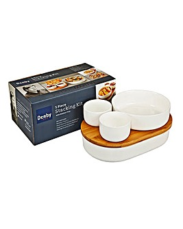 Denby James Martin 5-Piece Stacking Set