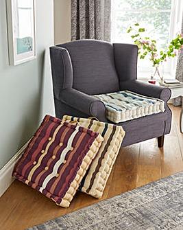 Striped Booster Cushion