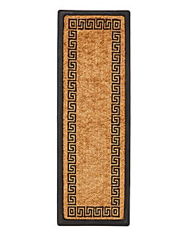 Greek Printed Coir Runner Mat