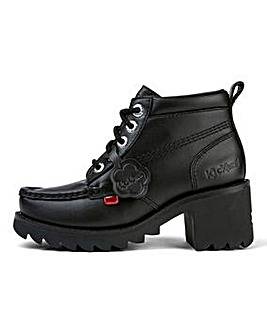 Kickers Kick Hi Leather Shoes Standard D Fit