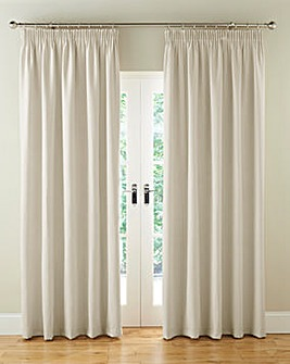 Faux Suede Pencil Blackout Curtains