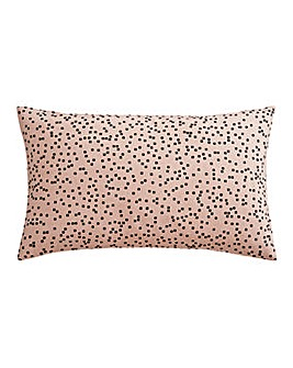Speckled Blush Print Cushion