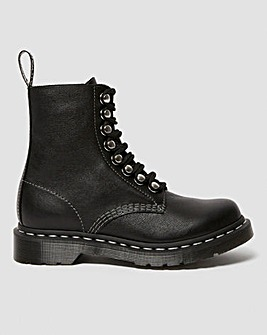 Dr Martens 1460 Pascal HDW Virginia Leather Ankle Boots Standard D Fit