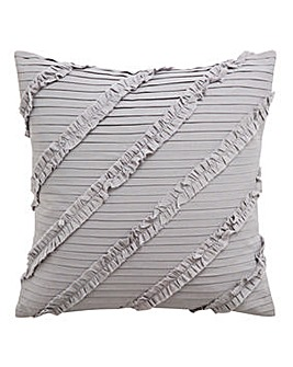 Pleated Ruffle Cushion