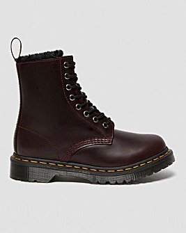 Dr Martens 1460 Serena 8 Eye Leather Ankle Boots Standard D Fit