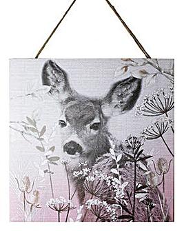 Arthouse Champagne Bambi Hanging Print