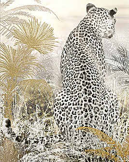 Arthouse Kinship Leopard Capped Canvas
