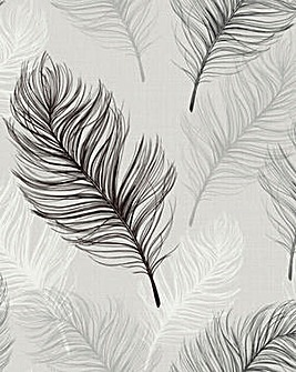 Arthouse Whisper Feather Wallpaper