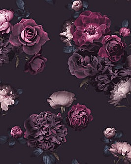 Arthouse Euphoria Plum Wallpaper