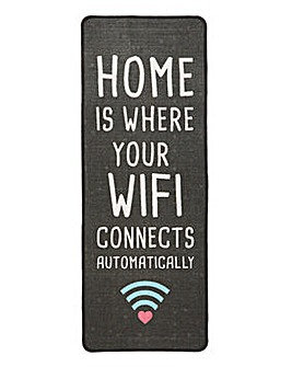 Home Is Where Your Wifi Connects Runner