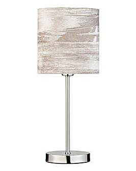 Crushed Velvet Stick Lamp