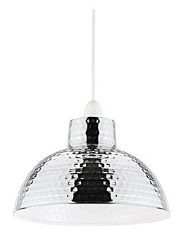 Holcombe Chrome Easy Fit Pendant