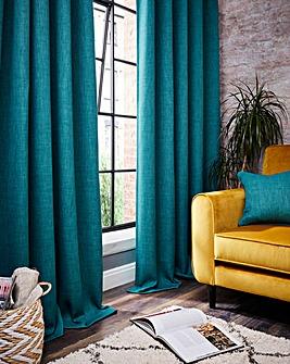Hugo Woven Textured Blackout Curtains