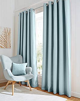 Hugo Woven Textured Blackout Curtains