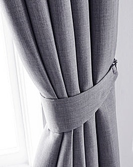 Hugo Woven Textured Tie-Backs