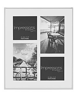 Impressions Silverplated Photo Frame