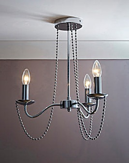 Westwood Beaded 3 Light Ceiling Light