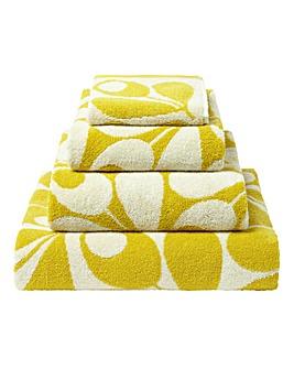 Orla Kiely Acorn Cup Towel Range