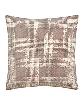 Velvet Check Cushion