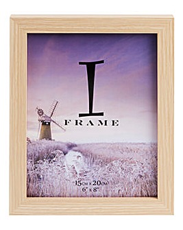iFrame Wood Effect Photoframe 6 x 8in