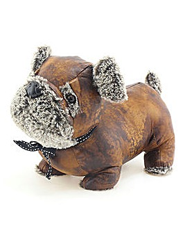 Antique Pug Doorstop