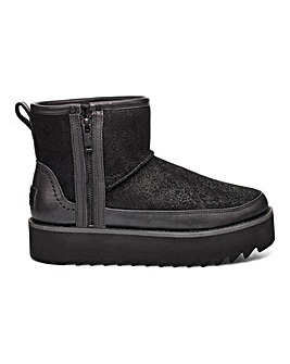 Ugg Classic Rebel Biker Mini Standard D Fit