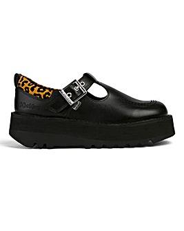 Kickers Kick Stack T-Bar Shoes