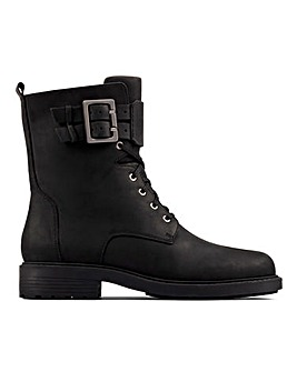 Clarks Orinoco 2 Lace Up Leather Ankle Boots Standard D Fit