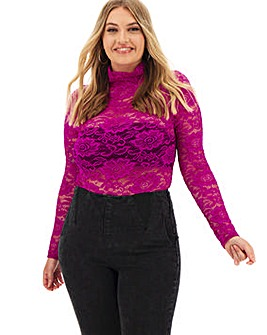 High Neck Layering Top