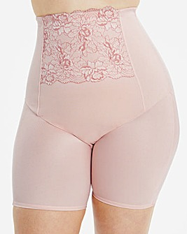 MAGISCULPT Ella Blush Lace Firm Control Anti-Chafing Thighshaper