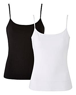 2 Pack Secret Support Cotton Vest