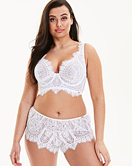 Figleaves Curve Adore Lace High Apex Non Padded Full Cup Bra