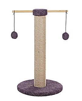 Cat Scratcher with Rotating Toys