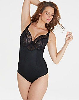 Ella Lace Firm Control Black Bodyshaper