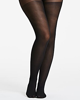 3 Pack 40 Denier Black Opaque Tights